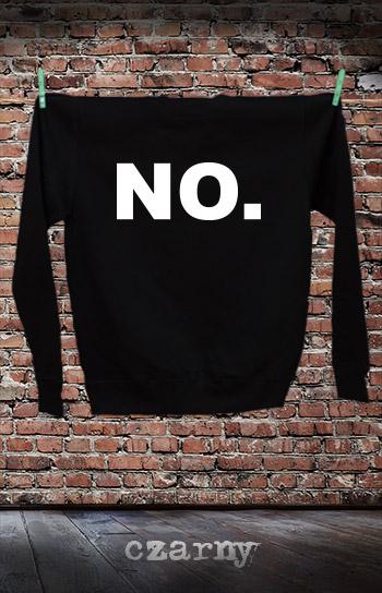 bluza dla niej i dla niego NO kolor czarny