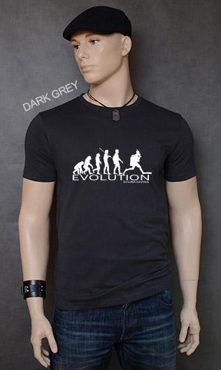 koszulka męska SCUBA DIVING EVOLUTION kolor dark grey