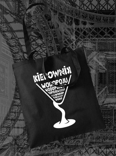 torba na zakupy KIEROWNIK WODOPOJU kolor czarny