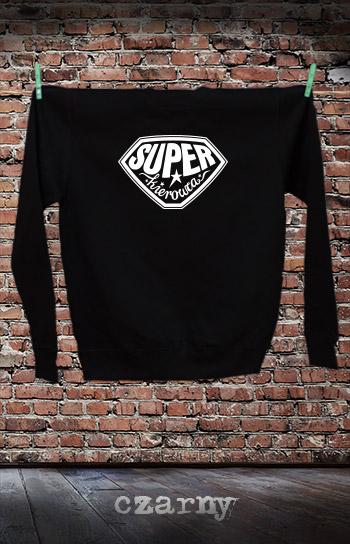 bluza dla niej i dla niego SUPER KIEROWCA kolor czarny