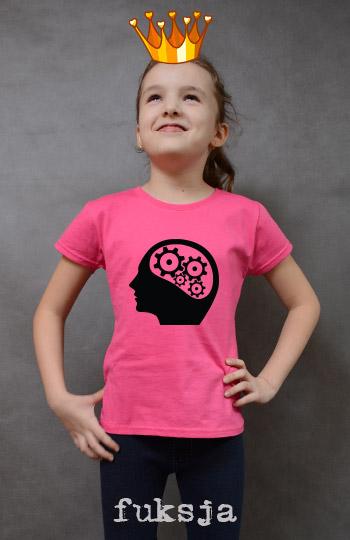 koszulka dziewczęca ENGINEER'S BRAIN kolor fuksja